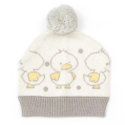 Duck Duck Indus Design Cotton Knit Baby Hat Beanie