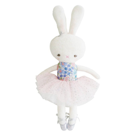 Hannah Ballerina Bunny 28cm Small Liberty Blue Doll