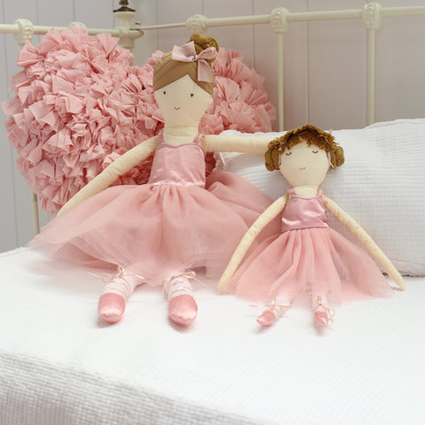 Pink Ballerina Toy Doll
