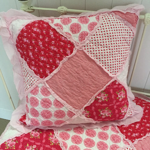Scarlet Square Cushion Cover