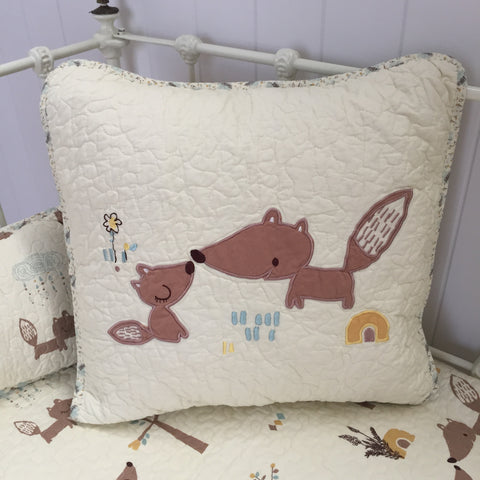 Squirrel Square Cushion Cover