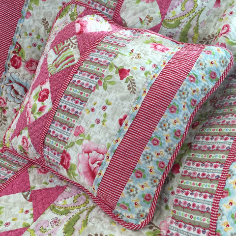Stella Square Floral Cushion Cover
