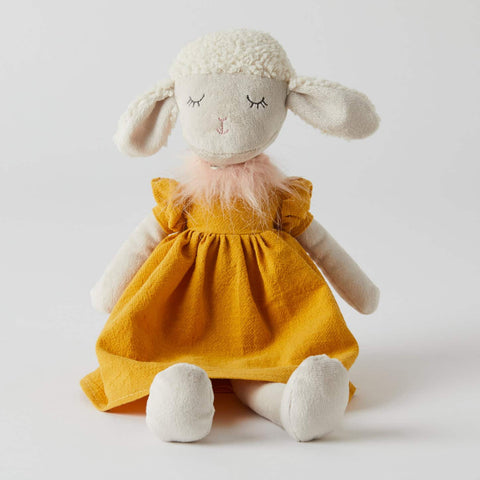 Polly Lamb Children's Toy Sheep Doll