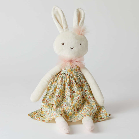 Amelia Bunny Floral Children's Toy Doll Rabbit