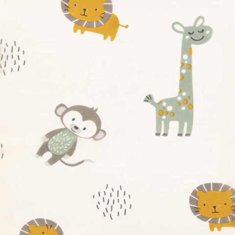 Jungle Friends Cotton Swaddle Wrap