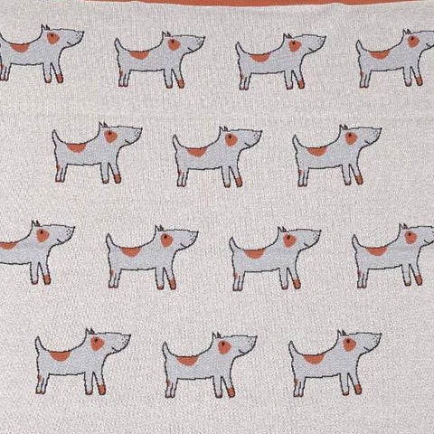 Baby Jack the Dog Nursery Pram Blanket