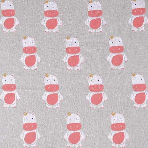 Baby Girls Hippo Blanket