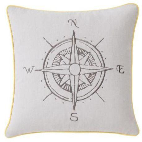 Navigate Cushion Yellow Trim