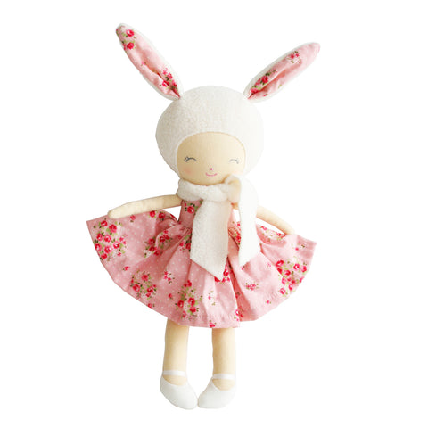 Belle Bunny Pink Floral Small Doll