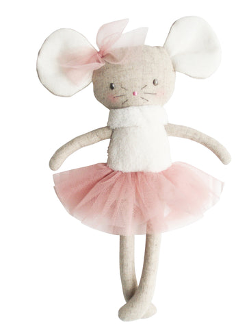 Missie Mouse Mini Ballerina Small Pink Doll