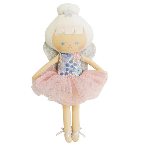Baby Fairy Liberty Blue Floral  Doll