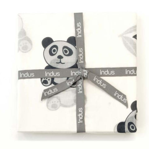 Panda Bao Bao Cotton Swaddle Wrap
