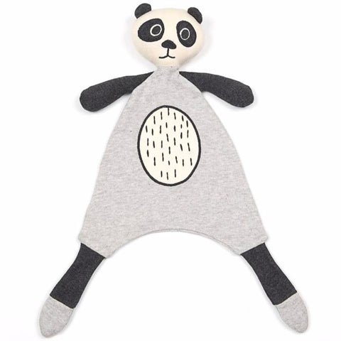 Panda Bear Baby Toy Comforter Soother.