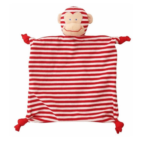 Red Monkey Baby Comforter Alimrose Soother