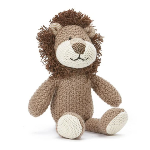 Hunter Small Lion Baby Rattle