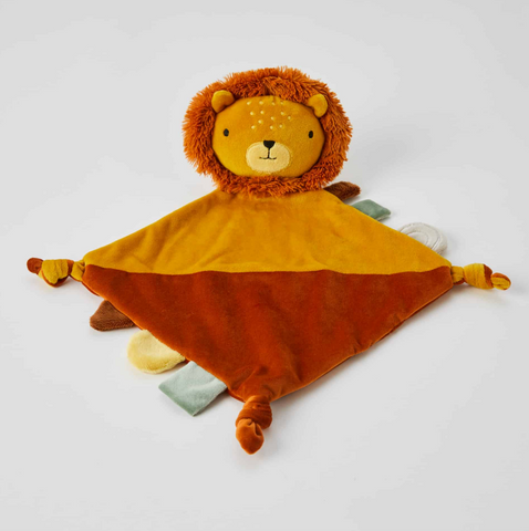 Edgar Lion Plush Baby Comfort Soother Security Blanket