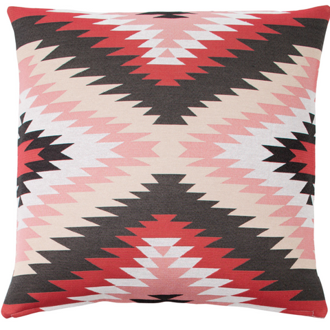 Kiva European Pillow Case in Red
