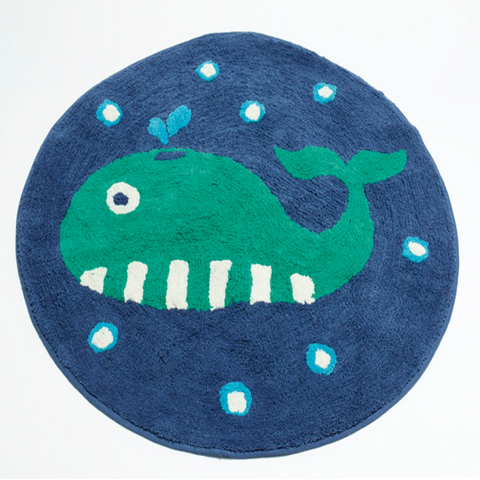Sea Creatures Floor Rug