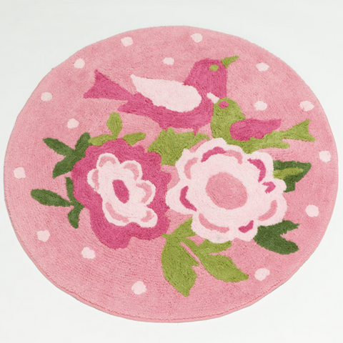 Shabby Chic Girls Floor Rug