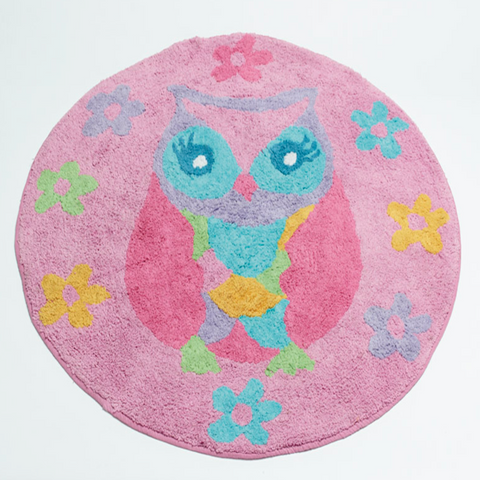 Owl Song Kids Floor Rug