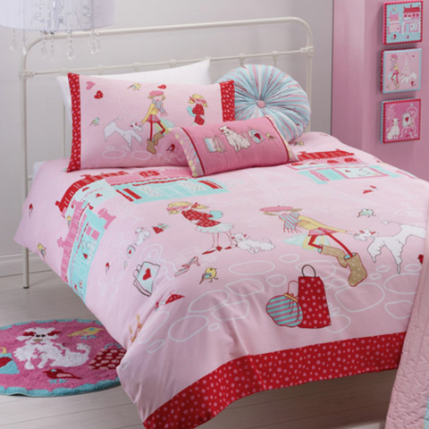 Born To Shop Kids Quilt Cover Set