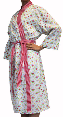 Stella Womens Floral Bathrobe Sale