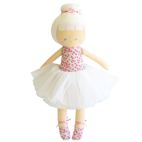 Sweet Floral Big Ballerina Nursery Children's Doll