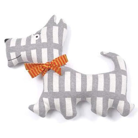 Scott the Dog Knit Toy Cushion