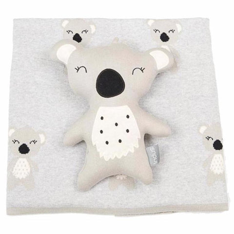 Koala Baby Blanket & Cushion Gift Set