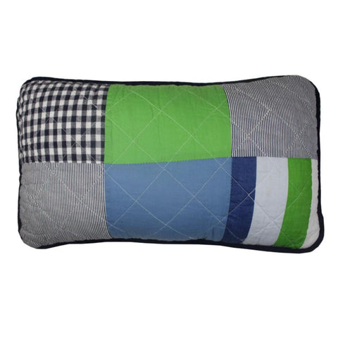 Henry Patch Rectangle Decorator Cushion