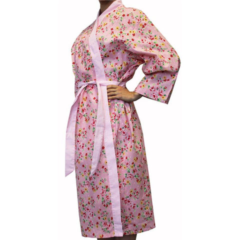 Alice Cotton Floral Bathrobe Sale