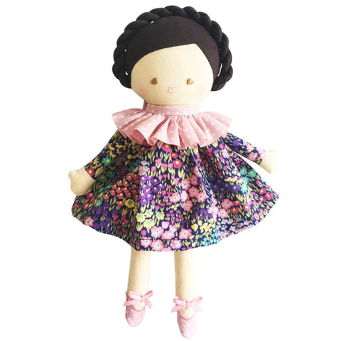Baby Coco Liberty Navy Floral 26cm Doll
