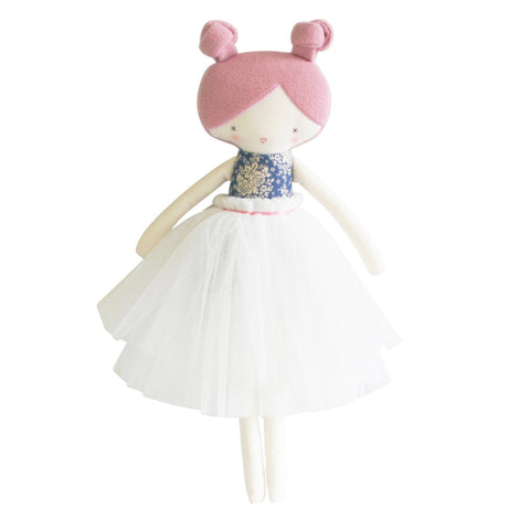 Collette Doll 52cm Blue & Pink Large Ballerina Doll