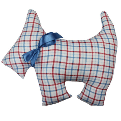 Thomas Scotty Dog Check Cushion