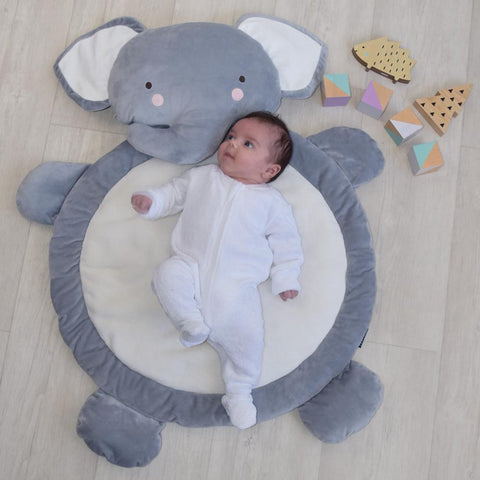 Elephant Baby Play Mat Floor Tummy Time Rug