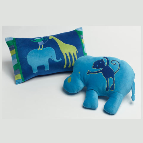 Animal Patch Rectangle or Elephant Cushion