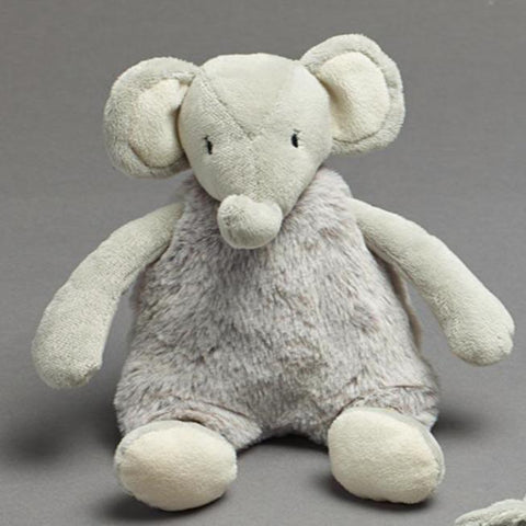 Baby Plush Elephant Toy Rattle