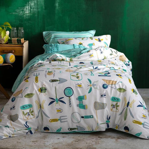 Outdoor Collector Kas Kids Boys Quilt Cover Set