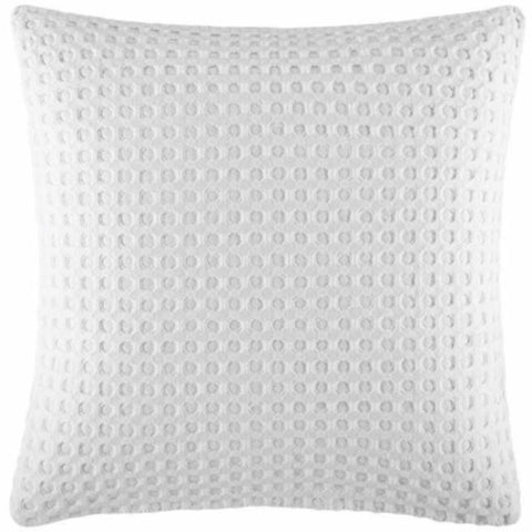 Poppi White Waffle European Pillow Case