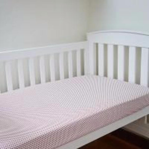 Scarlet Cotton Fitted Cot Sheet Sale