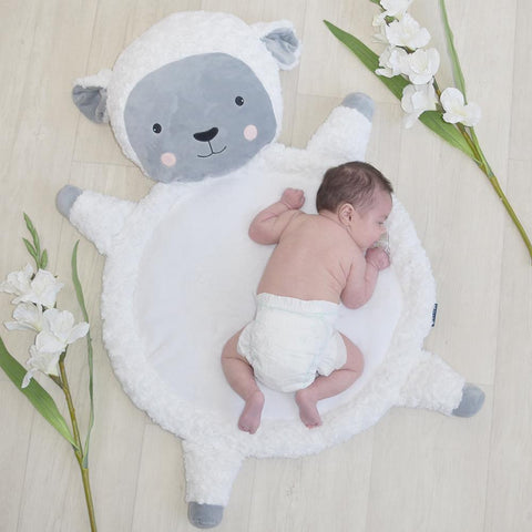 Sheep Baby Play Mat Floor Tummy Time Rug