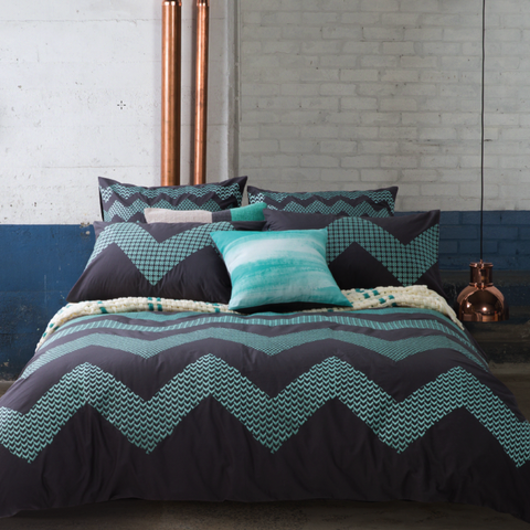 Kas Zig Zag Quilt Cover Set Sale