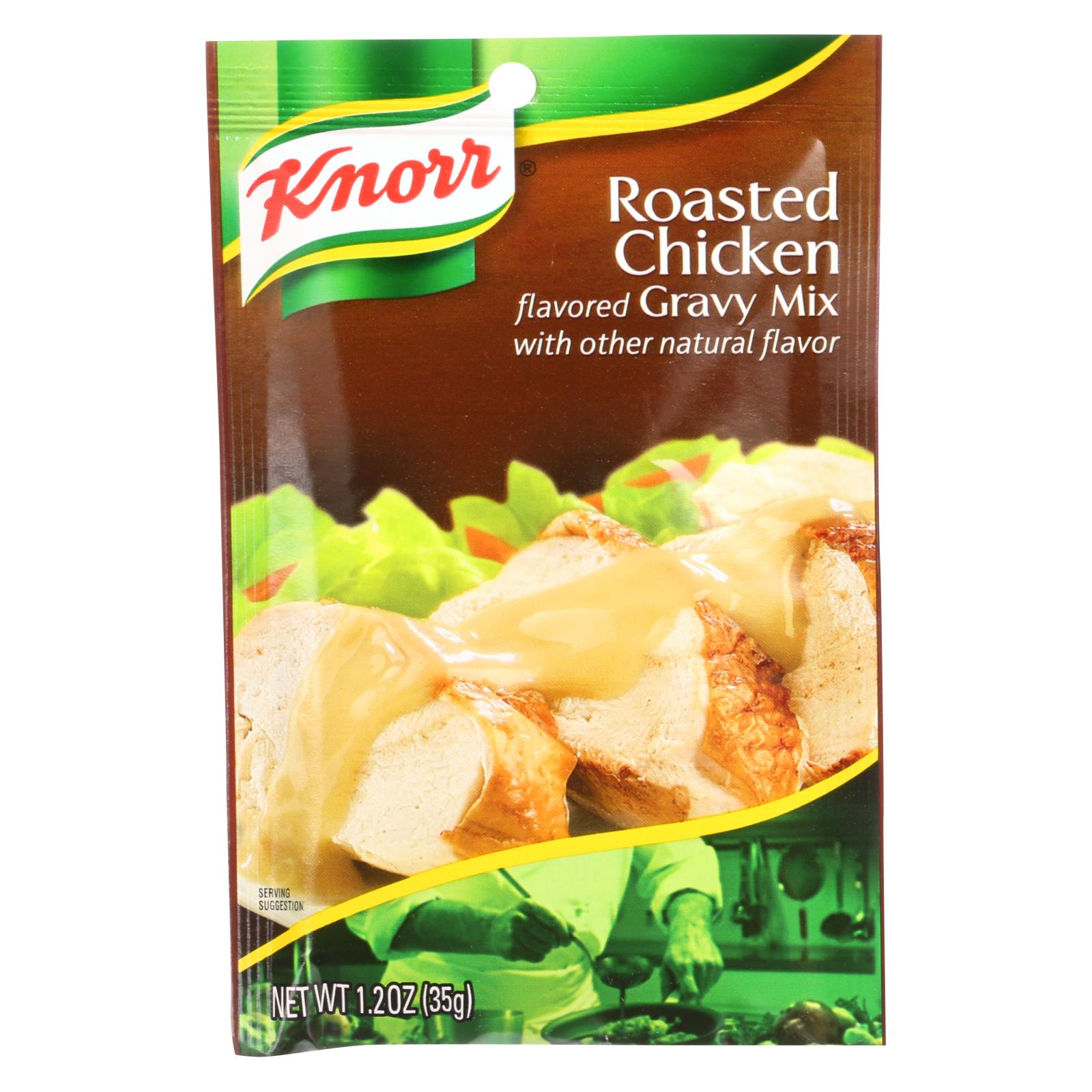 Knorr Gravy Mix Roasted Chicken 1.2 Oz Case Of 12 HG0100909