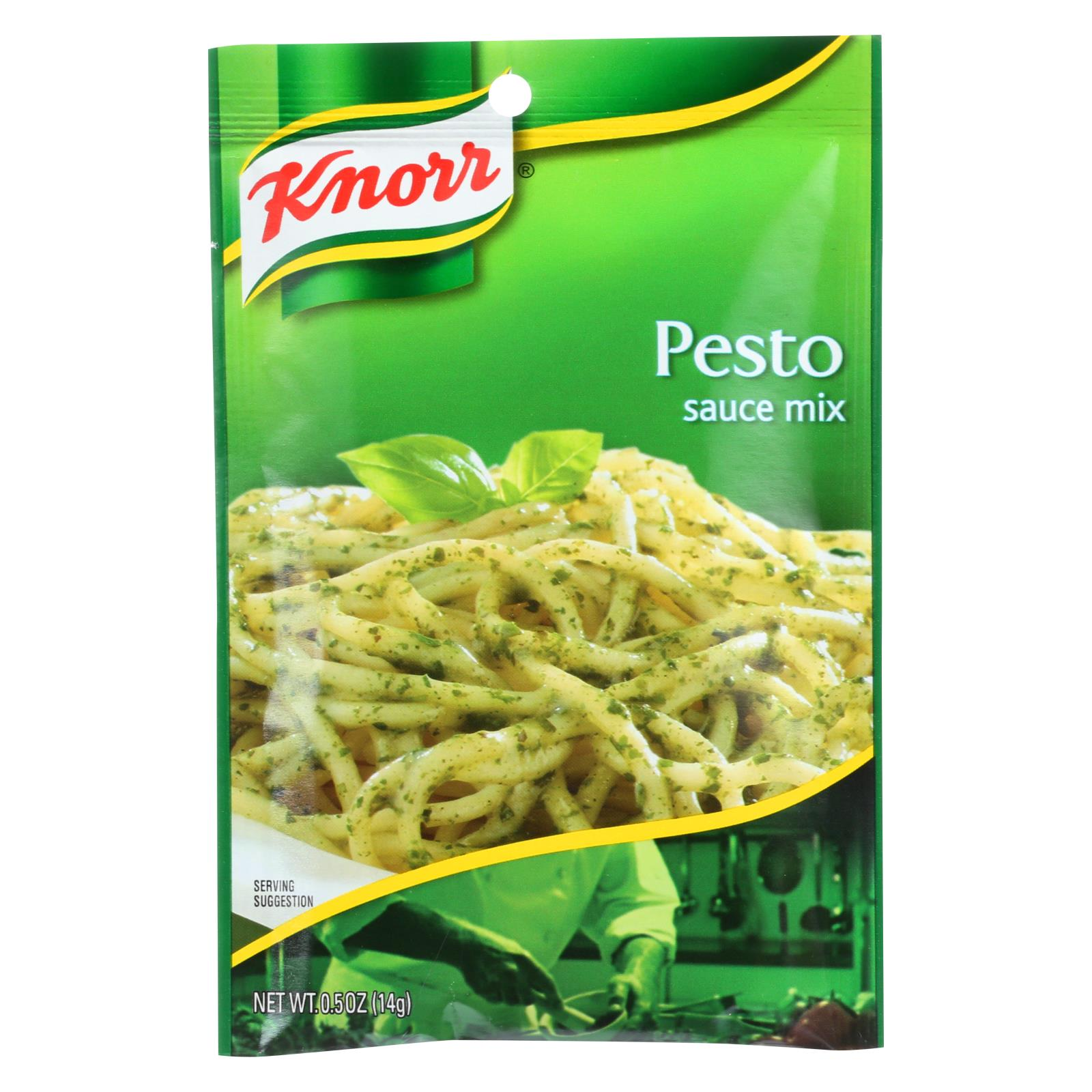 Knorr Sauce Mix - Pesto - .5 Oz - Case Of 12