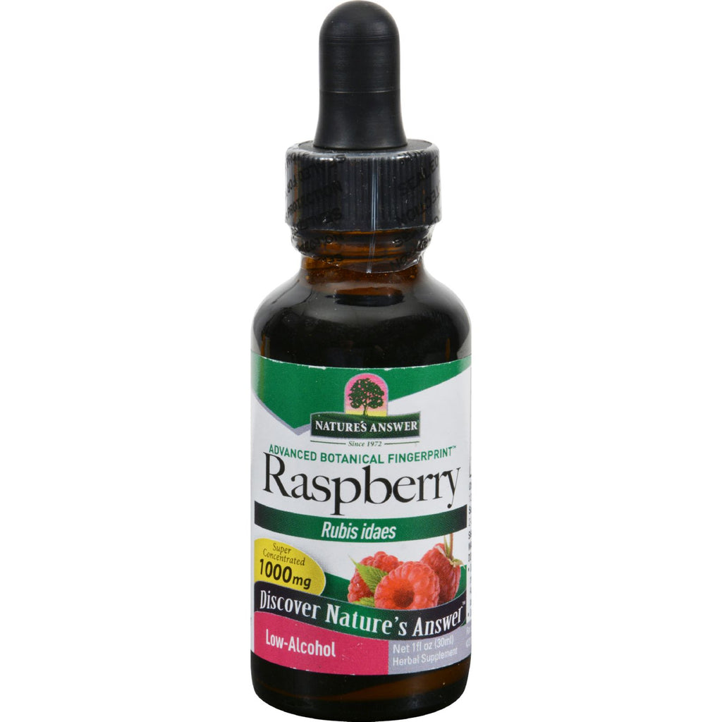 Nature's Answer - Raspberry Leaf - 1 Fl Oz