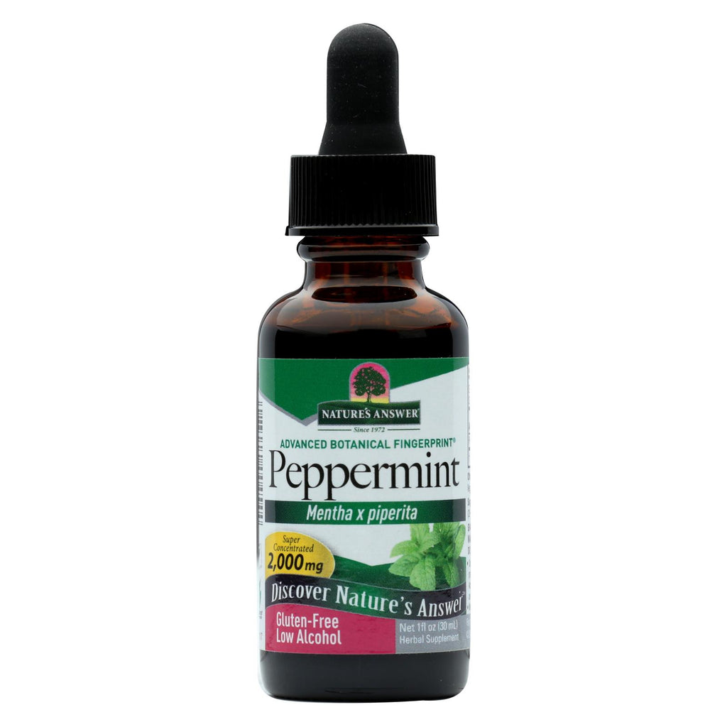 Nature's Answer - Peppermint Leaf - 1 Fl Oz