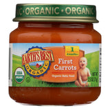 Earth's Best Organic First Carrots Baby Food - Stage 1 - Case Of 12 - 2.5 Oz.