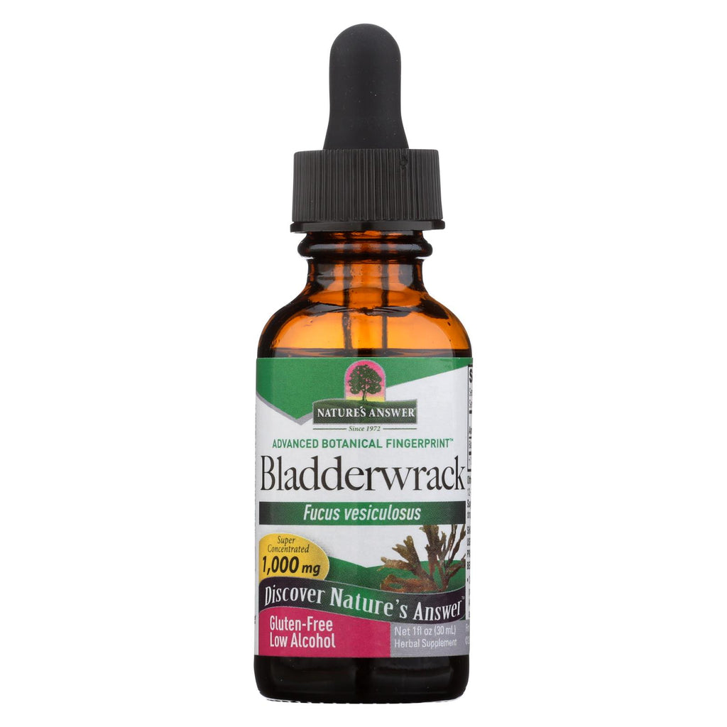 Nature's Answer - Bladderwrack Thallus - 1 Fl Oz