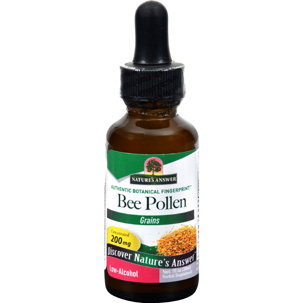 Nature's Answer Bee Pollen Grains - 1 Fl Oz