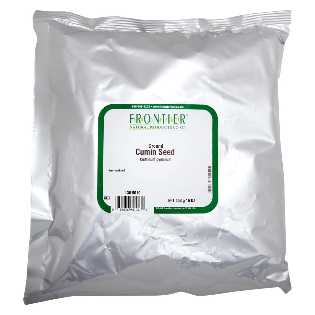 Frontier Herb Cumin Seed - Powder - Ground - Bulk - 1 Lb